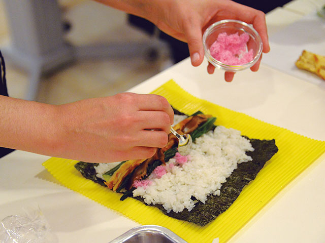 Japanese food cooking experience