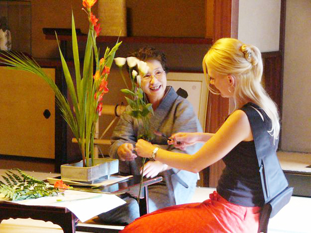 Kado Experience- traditional Japanese flower arrangement Experience