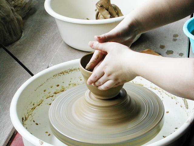 Ceramic art workshop