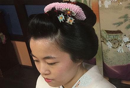 日本髪結い体験
